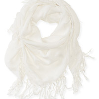 Aeropostale  Metallic Accent Windowpane Scarf