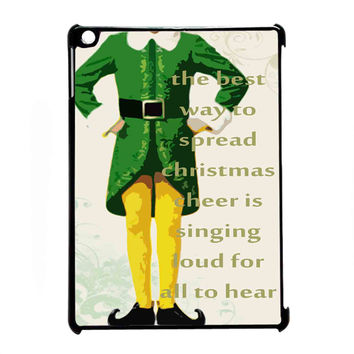 Christmas elf custom for iPad Air CASE *07*