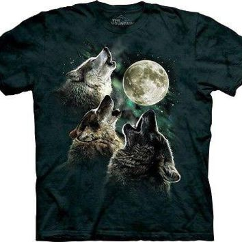 THREE WOLF MOON T-Shirt The Mountain Official Tee