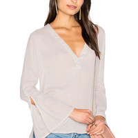 YFB CLOTHING Singer Top in Shell | REVOLVE