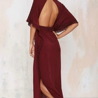 Nasty Gal Juliet Kaftan Dress