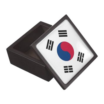 South Korea Flag Premium Gift Box
