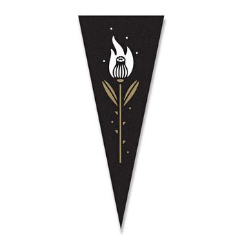 Burning Thistle Mini Pennant