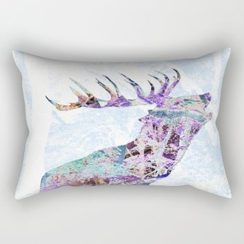 One with nature Rectangular Pillow by Pirmin Nohr