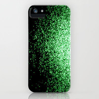 infinity in green iPhone Case by Marianna Tankelevich | Society6