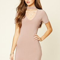 Choker Bodycon Dress