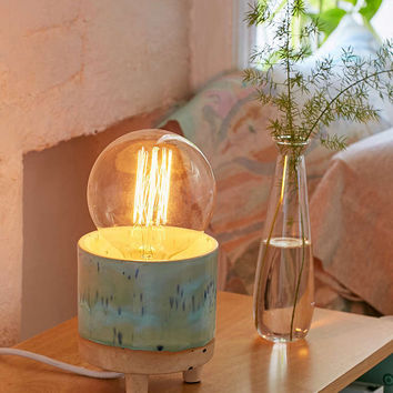 Footed Ceramic Table Lamp - Urban Outfitters