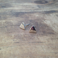The Itty Triangle Studs
