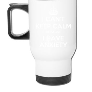 anxiety shirt - Travel Mug
