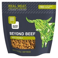 Beyond Meat GF Frozen Beefy Beef Free Crumble - 11oz