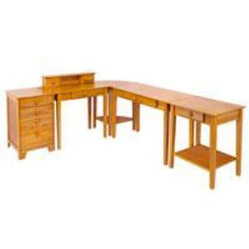 Winsome Wood 99555 Studio 5pc Home Office Set
