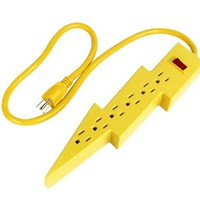 Kikkerland UL05 Bolt Power Strip