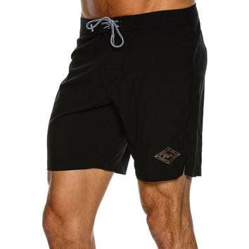 RHYTHM THE BLACK BOARDSHORT