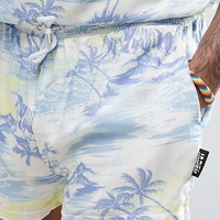 Jaded London Shorts In Hawaiian Print at asos.com