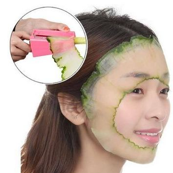 Magic Beauty Mask Slicer Vegetable Fruit Cucumber mask slicer cutter beauty device health Care Tool