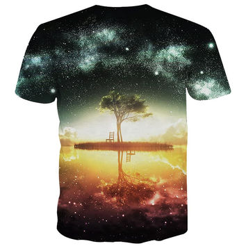 Men's Galaxy Graphic Tee