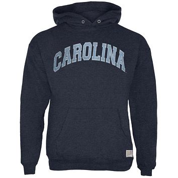North Carolina Tar Heels - Arched Letters Tri-Blend Adult Pullover Hoodie