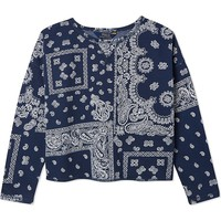 RALPH LAUREN - Bandana print sweatshirt 7-14 years | Selfridges.com