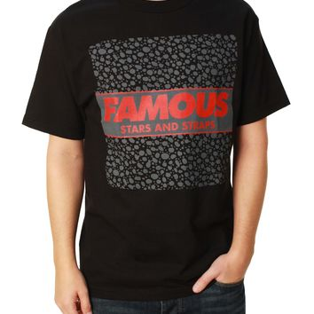 Famous Stars and Straps Men's Speck Box Graphic T-Shirt