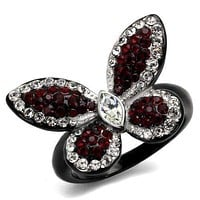 Black Beautiful Butterfly Ring