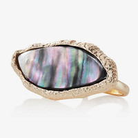 TWO FINGER STONE RING from EXPRESS