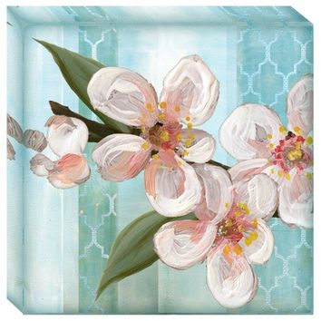 Pear Blossoms 2 Canvas Wall Art (2071) - Illuminada