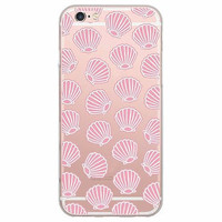 Pink Seashells Soft Case for iPhone  6 6s, 6 Plus Aloha