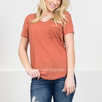 Dear John Basic Pocket Top | Colors