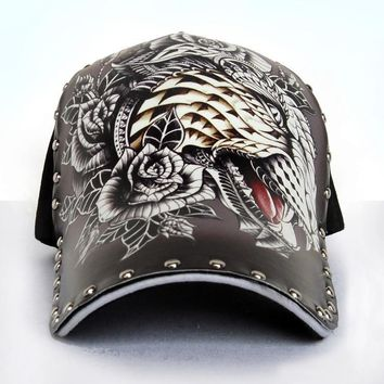 Trendy Winter Jacket Original 3D printing Chinese style tiger sailing eagle Baseball Cap men WOMEN Fashion Snapback cap Hip Hop Hat AT_92_12