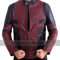 Ryan Reynolds Deadpool Jacket - Available in All Sizes + Free Gift