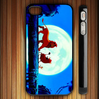disney company happy lion king hakuna matata design for iphone 4,iphone 5,samsung s2,samsung s3 cover case