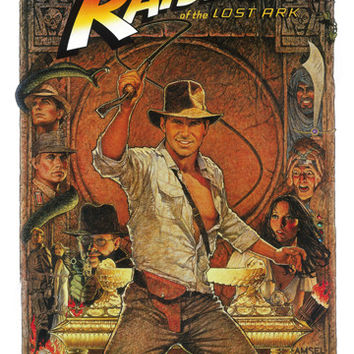 Indiana Jones Raiders Lost Ark Poster