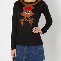 Hanging Out Rudolph Sweater