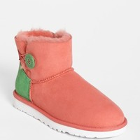UGG Australia 'Mini Bailey Button Neon' Boot