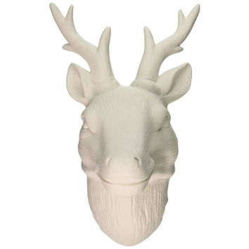 Best White Decorative Deer Heads Products On Wanelo