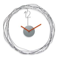 Infinity Instruments Wire Transfer Metal Wall Clock