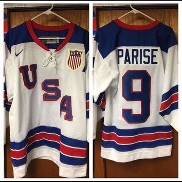 2010 Vancouver Olympics Team USA Hockey Jersey Patrick Kane & More