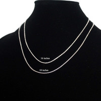 925 sterling silver necklace Silver chain S9