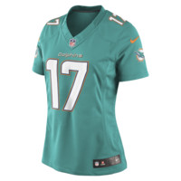Nike NFL Miami Dolphins (Ryan Tannehill) Women's Football Home Limited Jersey