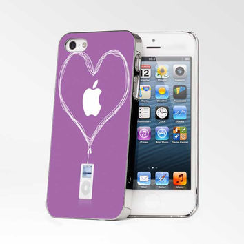 Love Apple Purple iPhone 4s iphone 5 iphone 5s iphone 6 case, Samsung s3 samsung s4 samsung s5 note 3 note 4 case, iPod 4 5 Case