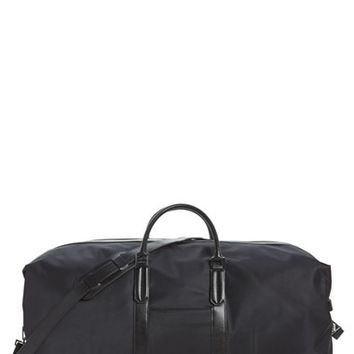 Men's Ben Minkoff 'Large Wythe' Nylon Duffel Bag - Black