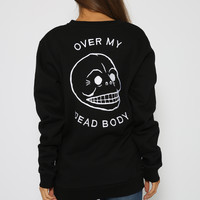 Cheap Monday - Over My Dead Body Sweater - Black