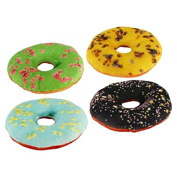 Dog Toy Donuts Set