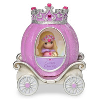 Precious Moments Pretty as a Princess Charity Princess Carriage Light Up Figurine