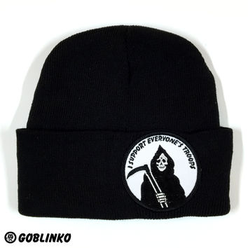 GOBLINKO PATCH HAT - I SUPPORT EVERYONE'S TROOPS