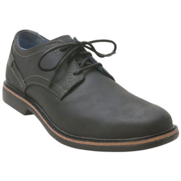 Skechers Malling Black Black Dress Shoe