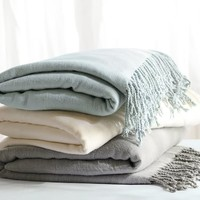 MONOGRAMMABLE OVERSIZED THROW