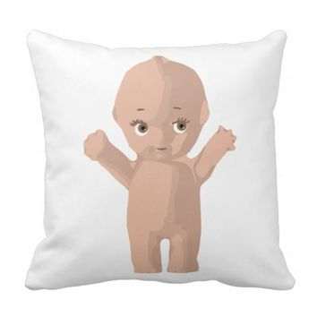 Kewpie Doll Pillow
