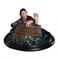 The Hobbit: The Desolation of Smaug Bilbo Baggins Barrel Rider by Weta |
