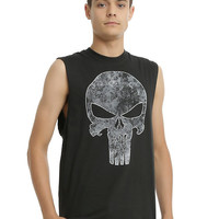 Marvel Punisher Logo Muscle T-Shirt